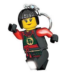LEGO® LED Lite Detská svietiaca figúrka Ninjago Nya - farebná