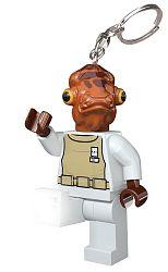 LEGO® LED Lite Detská svietiaca figúrka Star Wars Admirál Ackbar