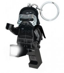 LEGO® LED Lite Detská svietiaca figúrka Star Wars Kylo Ren - čierna