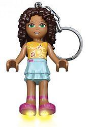 LEGO® LED Lite Detská svietiace figúrka Friends Andrea - farebná