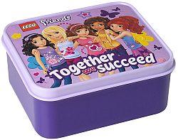 LEGO® Storage Friends Box na desiatu - levanduľový