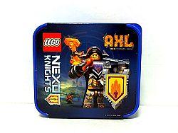 LEGO® Storage NEXO Knights Box na desiatu - modrý