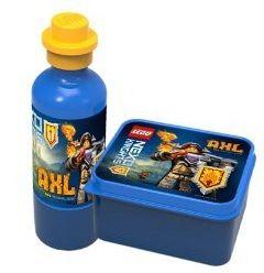 LEGO® Storage NEXO Knights Desiatová súprava- modrá