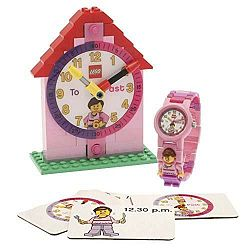 LEGO® Time Teacher 9005039 - ružová