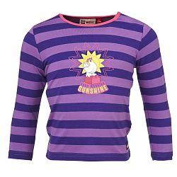 LEGO® wear Dievčenské pruhované tričko TINA 605 - fialové, 98 cm