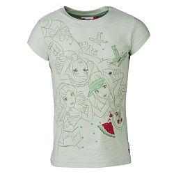 LEGO® wear Dievčenské tričko Tamara 405 - svetlo zelené, 122 cm