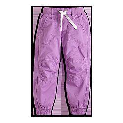 Lindex Dievčenské nohavice - fialové, 98 cm