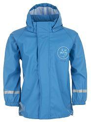 LOAP Chlapčenská nepremokavá bunda SILVESTER - modrá, 98 cm