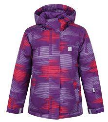 LOAP Dievčenská lyžiarska bunda Zelma - ružovo-fialová ee1266a6e51