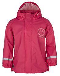 LOAP Dievčenská nepremokavá bunda SILVESTER - ružová, 98 cm