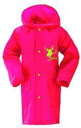 LOAP Dievčenská pláštenka Smoky - ružová, 5 let