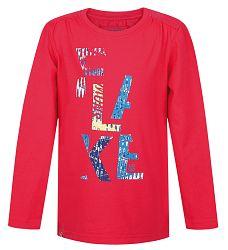 LOAP Dievčenské tričko India - ružové, 128 cm