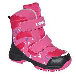LOAP Dievčenské zimné topánky Chosee - ružové, EUR 31