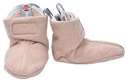 Lodger Detské topánočky Cotton Quilt Nude - béžová, EUR 17