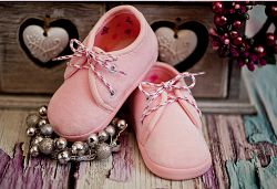 Lola Baby Dievčenské šnurovacie capáčky - ružové, EUR 21