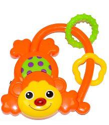 MaaMaa Hrkálka Opička - oranžové