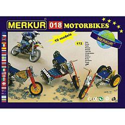 Merkur Stavebnica 018 Motocykle 10 modelov - 182 ks