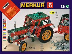 Merkur Stavebnica 6 100 modelov - 940 ks, 4 vrstvy