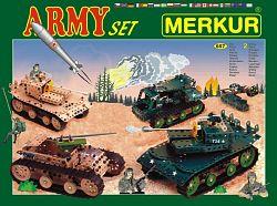 Merkur Stavebnica Army Set - 657 ks 2 vrstvy