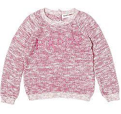 Minoti Dievčenský sveter Glitter 7 - ružový, 98-104 cm