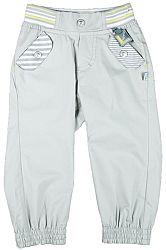 MMDadak Chlapčenské nohavice s vreckami - šedé, 74 cm