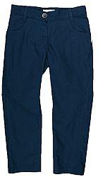 MMDadak Dievčenské nohavice Granat - tmavo modré, 104 cm