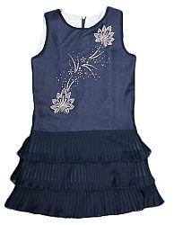 MMDadak Dievčenské plisované šaty, 104 cm