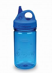 Nalgene Grip-n-Gulp Bottle Blue 350 ml b13a0a70deb