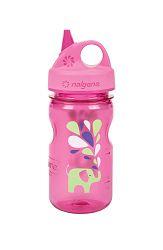 Nalgene Grip-n-Gulp Bottle Pink Elephant 350 ml
