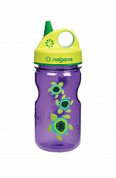 Nalgene Grip-n-Gulp Bottle Purple Turtles 350 ml