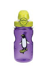 Nalgene OTF Kids Bottle Puple Penguin 350 ml