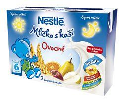 Nestlé Mliečko s kašou Ovocné, 2x200ml
