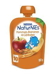 Nestlé NATURNES Banán Jablko Ovos 90g