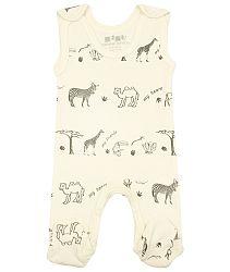 Nini Detské dupačky Safari - béžové, 56 cm