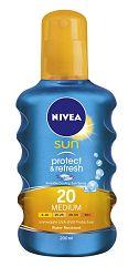 Nivea Sun Neviditeľný sprej na opaľovanie OF 20 200 ml