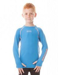 Nordblanc Chlapčenské termo tričko Defender - modré, 110-116 cm