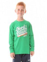 Nordblanc Chlapčenské tričko Show - zelené, 110-116 cm