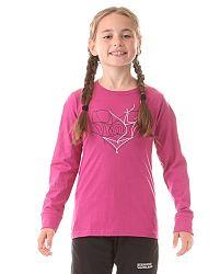 Nordblanc Dievčenské tričko Nub - ružové