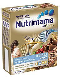 Nutrimama Cereálne tyčinky brusnice / čoko 200 g (5x40 g)