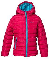 O'Style Dievčenská bunda s kapucňou - ružová, 116 cm