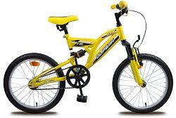 """Olpran Detský bicykel Miki 8""""- žltý"""