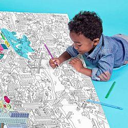 OMY DESIGN & PLAY Omaľovánkový plagát New York