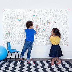 OMY DESIGN & PLAY Veľké maľovanky XXL Fantastic