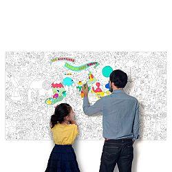 OMY DESIGN & PLAY Veľké maľovanky XXL Jeff Koons