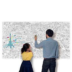 OMY DESIGN & PLAY Veľké maľovanky XXL Paris