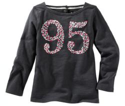 Oshkosh Dievčenské tričko 95 - tmavo šedé, 74 cm