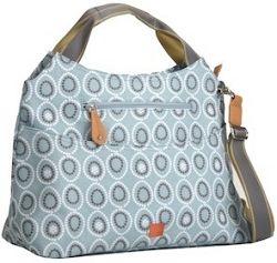 PacaPod NAPIER svetlo modrá - kabelka aj prebaľovacia taška