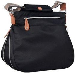 PacaPod PORTLAND čierna - kabelka aj prebaľovacia taška