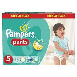 Pampers Pants plienkové nohavičky 5 Junior (12-18 kg), 96 ks