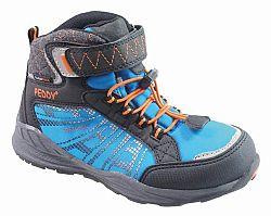 Peddy Chlapčenské členkové outdoorové topánky - modré, EUR 35